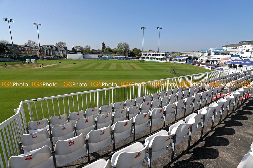 General view of the ground during Essex CCC vs Lancashire CCC, Specsavers County Championship Division 1 Cricket at The Cloudfm County Ground on 22nd April 2018