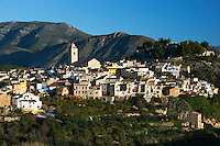 Spain, Costa Blanca, Polop: Traditional mountain village near Benidorm | Spanien, Costa Blanca, Polop: traditionelles Bergdorf bei Benidorm