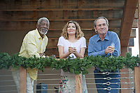 JUST GETTING STARTED (2017)<br /> MORGAN FREEMAN, RENE RUSSO, TOMMY LEE JONES<br /> *Filmstill - Editorial Use Only*<br /> CAP/FB<br /> Image supplied by Capital Pictures