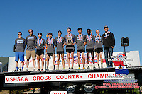 Class 4 Boys Team Awards 2013 MO State XC