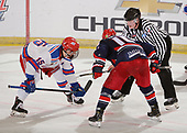 Brooks, AB - May 11 2019 - Brooks Bandits vs. Oakville Blades during the 2019 National Junior A Championship at the Centennial Regional Arena in Brooks, Alberta, Canada (Photo: Matthew Murnaghan/Hockey Canada)