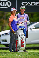 Min Seo Kwak (KOR) waits to tee off on 17 during Thursday's round 1 of the 2017 KPMG Women's PGA Championship, at Olympia Fields Country Club, Olympia Fields, Illinois. 6/29/2017.<br /> Picture: Golffile | Ken Murray<br /> <br /> <br /> All photo usage must carry mandatory copyright credit (&copy; Golffile | Ken Murray)
