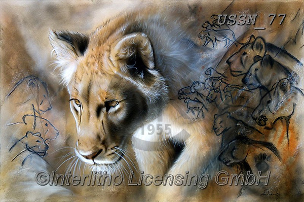 Sandi, REALISTIC ANIMALS, REALISTISCHE TIERE, ANIMALES REALISTICOS, paintings+++++TheSourcelion,USSN77,#a#, EVERYDAY ,puzzles