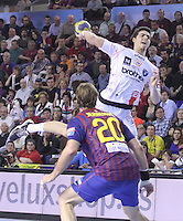 25.03.2012. Barcelona , Spain. Velux EHF Champions League (last 16 2nd leg), FC Barcelona v Montpellier HB at Palau Blaugrana