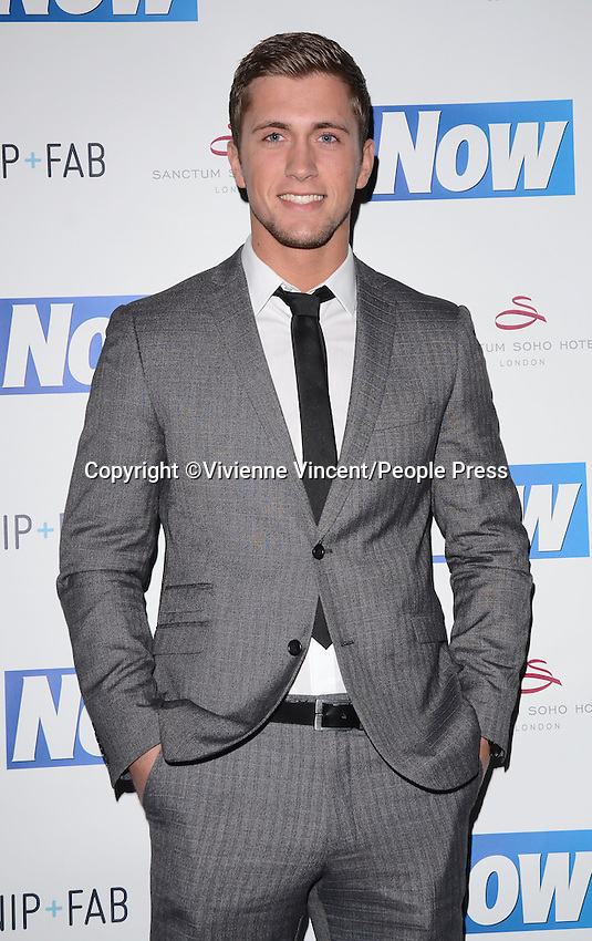 Now Magazine Christmas party at Sanctum Soho Hotel, London on November 26th 2013<br /> <br /> Photo by Vivienne Vincent
