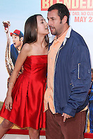 HOLLYWOOD, LOS ANGELES, CA, USA - MAY 21: Emma Fuhrmann, Adam Sandler at the Los Angeles Premiere Of Warner Bros. Pictures' 'Blended' held at the TCL Chinese Theatre on May 21, 2014 in Hollywood, Los Angeles, California, United States. (Photo by Xavier Collin/Celebrity Monitor)