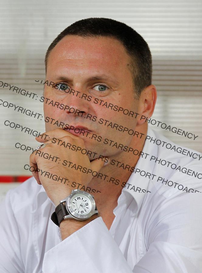 Fudbal Super liga season 2013-2014<br /> Napredak v Crvena Zvezda <br /> Head coach Milan Lesnjak<br /> Krusevac, 24.08.2013.<br /> foto: Srdjan Stevanovic/Starsportphoto &copy;