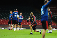 Spain's Manager Luis Enrique during the pre-International Friendly training session of the Spain squad at the Principality Stadium, Cardiff, UK. Wednesday 10 October 2018