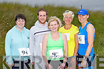 BANNA RACE: Having a great time at the Banna 10km Run on Sunday l-r: Emma Murphy, Eoin Muckian, Mary Teresa Murphy and Sharon and Annmarie Holland.