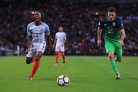 England Raheem Sterling during the FIFA World Cup 2018 Qualifying Group F match between England and Slovenia at Wembley Stadium on October 5th 2017 in London, England. <br /> Calcio Inghilterra - Slovenia Qualificazioni Mondiali <br /> Foto Phcimages/Panoramic/insidefoto