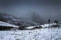 08/12/14<br /> <br /> Snow falls on Chrome Hill, in the Derbyshire Peak District,<br /> <br /> ***ANY UK EDITORIAL PRINT USE WILL ATTRACT A MINIMUM FEE OF £130. THIS IS STRICTLY A MINIMUM. USUAL SPACE-RATES WILL APPLY TO IMAGES THAT WOULD NORMALLY ATTRACT A HIGHER FEE . PRICE FOR WEB USE WILL BE NEGOTIATED SEPARATELY***<br /> <br /> <br /> All Rights Reserved - F Stop Press. www.fstoppress.com. Tel: +44 (0)1335 300098
