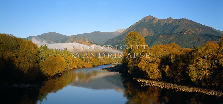 Motueka River. Tasman Region. New Zealand.