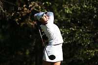 CHAPEL HILL, NC - OCTOBER 11: Letizia Bagnoli of Wake Forest University tees off at UNC Finley Golf Course on October 11, 2019 in Chapel Hill, North Carolina.