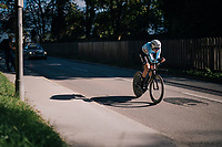 Laurens De Plus (BEL/QuickStep Floors)<br /> <br /> MEN ELITE INDIVIDUAL TIME TRIAL<br /> Hall-Wattens to Innsbruck: 52.5 km<br /> <br /> UCI 2018 Road World Championships<br /> Innsbruck - Tirol / Austria
