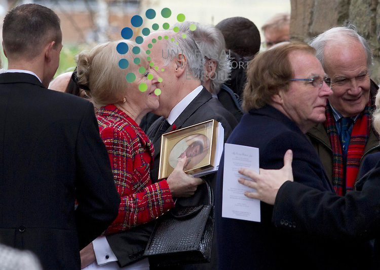 The funeral of Scottish musician Jack Alexander of The Alexander Brothers is to be held.<br /> Jack and his brother Tom toured the world during a career spanning more than 50 years and were awarded MBEs for services to entertainment.<br /> Mr Alexander, who was 77, was said to have died peacefully with his family around him at Ayrshire Hospice last weekend.<br /> The funeral service will take place at the Auld Kirk in Ayr.<br /> Jack and his 79-year-old brother Tom, who were from Cambusnethan in North Lanarkshire, started their professional career at Webster Theatre in Arbroath in 1958.<br /> Both of the Alexander Brothers were classically trained and played from a young age, with Jack on the piano and Tom on the accordion. <br /> Picture: Universal News And Sport (Scotland) 8 November  2013