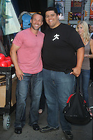 NEW YORK CITY, NY - August 06, 2012: Jonathan McHenry and Chris Powell at Good Morning America in New York City to talk about Powell's show 'Extreme Makeover: Weight Loss Edition'. © RW/MediaPunch Inc.