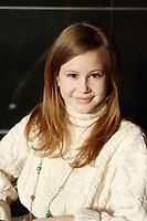 """Juliette Gosselin, <br /> lancement de la serie TV Histoire de famille<br />  : une saga familiale ayant pour toile le Québec des années 60 et 70<br /> <br />  l'- Launch of the TV serie"""" Histoire de famille""""<br />  : the story of a Quebec family during the 60's and 70's<br /> <br /> photo : (c)  Images Distribution"""