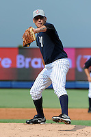 Staten Island Yankees pitcher Richard Martinez (34) during first team workout at Richmond County Bank Ballpark at St. George in Staten Island, NY June 15, 2010.  Photo By Tomasso DeRosa/ Four Seam Images