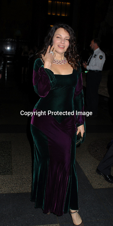 Fran Drescher..arriving at The Ovarian Cancer Research Fund L'Oreal Legends Gala on November 8, 2006 at The American Museum of Natural History. ..Robin Plater, Twin Images