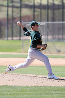 Justin Marks, Oakland Athletics 2010 minor league spring training..Photo by:  Bill Mitchell/Four Seam Images.