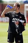 Nederland, Alkmaar, 26 juni 2012.Yves de Winter, nieuwe keeper van AZ