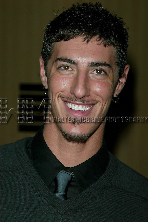 Eric Balfour at the 2003 WB Network Upfront in New York City on May 13, 2003.© Walter McBride / .