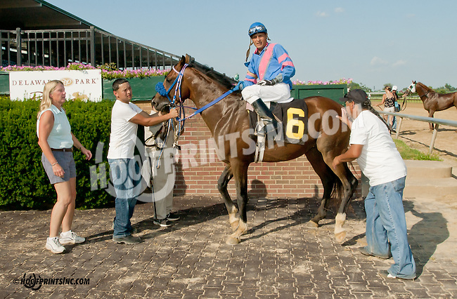 Burning Fleet winning at Delaware Park on 7/15/13