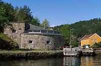 Norwegen, Drrbak bei Oslo, auf der Insel Oscarsborg