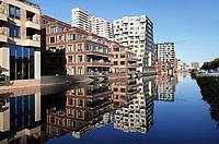 Nederland  Amsterdam -  September 2018. Appartementen aan de Zuidas.     Foto Berlinda van Dam / Hollandse Hoogte