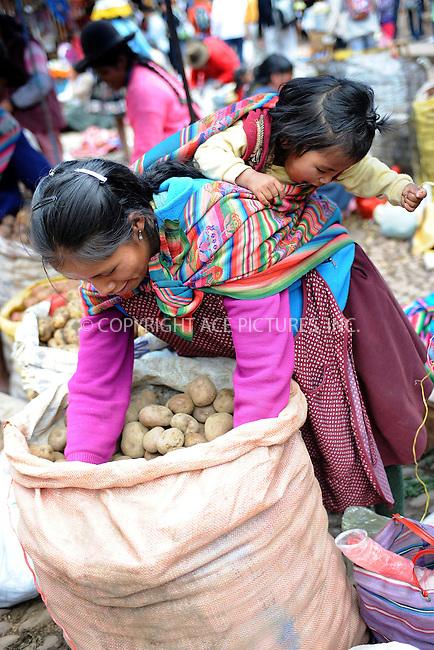 WWW.ACEPIXS.COM . . . . . .January 6, 2013...Peru...Pisac Market on January 6, 2013 in Peru ....Please byline: KRISTIN CALLAHAN - ACEPIXS.COM.. . . . . . ..Ace Pictures, Inc: ..tel: (212) 243 8787 or 212 489 0521..e-mail: kristincallahan@aol.com...web: http://www.acepixs.com .