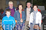 WATCHING: Watching the vintage tractors going through Kilflynn Village on Saturday in conjuction with the Kilflynn VintageRally Week-end, Denis Quille, Pat Hayes, Mary Nolan, Eamon Quille and Kathleen Nolan........
