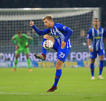 03.11.2018, OLympiastadion, Berlin, GER, DFL, 1.FBL, Hertha BSC VS. RB Leipzig, <br /> DFL  regulations prohibit any use of photographs as image sequences and/or quasi-video<br /> <br /> im Bild Arne Maier (Hertha BSC Berlin #26)<br /> <br />       <br /> Foto © nordphoto / Engler
