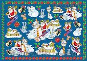 Alfredo, CHRISTMAS SANTA, SNOWMAN, decoupage, paintings(BRTOD1309CP,#X#,#DP#) Weihnachten, Navidad, illustrations, pinturas