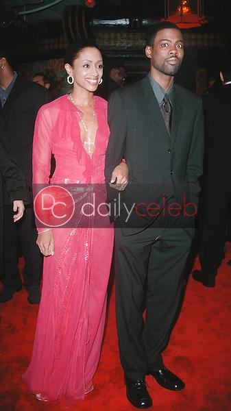 Chris Rock and wife Malaak