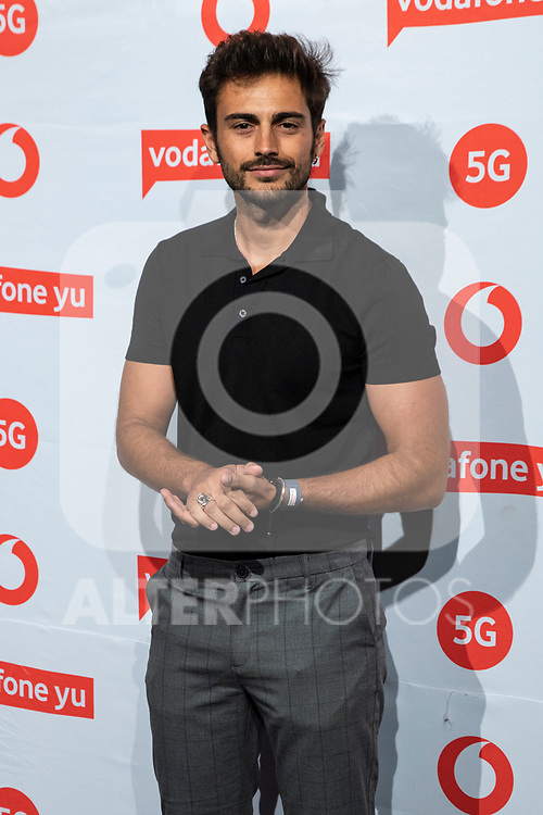 Victor Sevila during the photocall of VODAFONE YU MUSIC SHOWS<br /> ESTOPA  in Concert. <br /> <br /> October 2, 2019. (ALTERPHOTOS/David Jar)