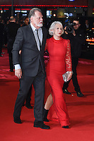 Dame Helen Mirren &amp; Taylor Hackford at the European premiere of &quot;Collateral Beauty&quot; at the Vue Leicester Square, London. <br /> December 15, 2016<br /> Picture: Steve Vas/Featureflash/SilverHub 0208 004 5359/ 07711 972644 Editors@silverhubmedia.com