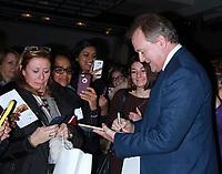 NEW YORK, NY - JANUARY 8: Hugh Bonneville visits Downton Abbey: The Exhibition in New York City on January 8, 2018. <br /> CAP/MPI/RW<br /> &copy;RW/MPI/Capital Pictures