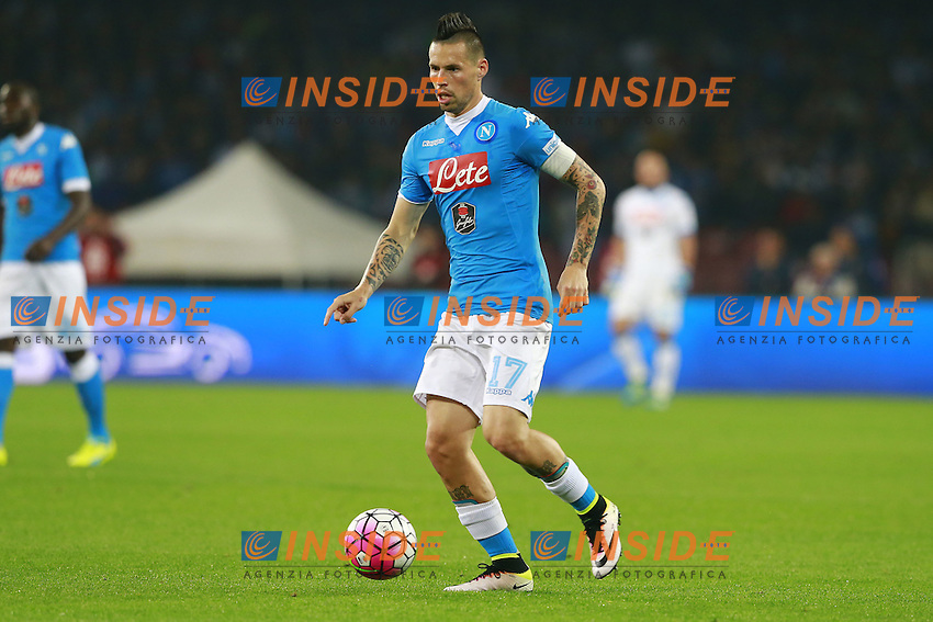 Marek Hamsik Napoli,  <br /> Napoli 14-05-2016 Stadio San Paolo<br /> Football Calcio Serie A 2015/2016 Napoli - Frosinone<br /> Foto Cesare Purini / Insidefoto