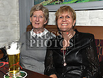 Patricia Casey and Catriona Thompson enjoying the new years eve celebrations in Barocco at The Westcourt Hotel. Photo:Colin Bell/pressphotos.ie
