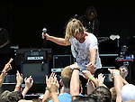 Jon Foreman of Switchfoot performs during the Hangout Music Fest in Gulf Shores, Alabama on May 18, 2012.