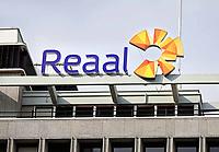 Nederland - Rotterdam - 26 maart 2018. Logo van Reaal verzekeringen.  Reaal is een merk van de Nederlandse verzekeraar VIVAT.  Foto Berlinda van Dam / Hollandse Hoogte.