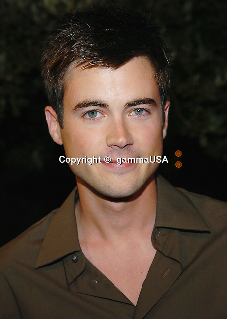Matt Long arriving at the  Warner Bros Party for Rock The Vote on the Warner Lot in Los Angeles. September 29, 2004.