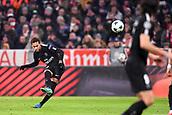 December 5th 2017, Allianze Arena, Munich, Germany. UEFA Champions league football, Bayern Munich versus Paris St Germain;  NEYMAR JR (psg) fires in the shot from a free kick