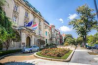 Washington DC Embassy Row Massachusetts Avenue