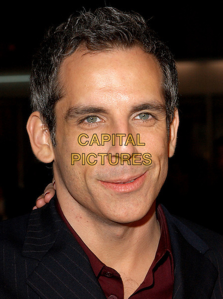 BEN STILLER  .World Premiere of Warner Brother's Starsky & Hutch held at The Mann Village Theatre in Westwood, California .26 February 2004 .*UK Sales Only*.headshot, portrait.www.capitalpictures.com.sales@capitalpictures.com.©Capital Pictures.