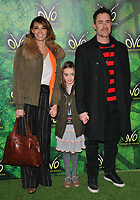Sarah Parish and her family at the OVO by Cirque du Soleil press night, Royal Albert Hall, Kensington Gore, London, England, UK, on Wednesday 10 January 2018.<br /> CAP/CAN<br /> &copy;CAN/Capital Pictures
