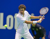 Rotterdam, Netherlands, December 19, 2015,  Topsport Centrum, Lotto NK Tennis,  Robin Haase (NED)<br /> Photo: Tennisimages/Henk Koster