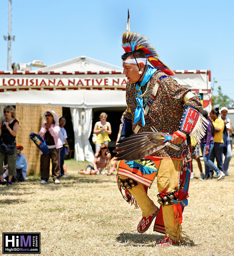Native Americans at Jazz Fest 2011.