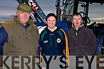 COMPLETED: Michael Hanlon (Ballyheigue), Cathy and Tony Quilter (Causeway) completed their drills at the Causeway Ploughing Competition on Timmy Leahy's Land, Causeway on Sunday.....................