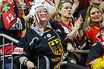 Deutschland Fans beim Torjubel beim Spiel der IIHF 2017 WM, Deutschland - Lettland.<br /> <br /> Foto &copy; PIX-Sportfotos *** Foto ist honorarpflichtig! *** Auf Anfrage in hoeherer Qualitaet/Aufloesung. Belegexemplar erbeten. Veroeffentlichung ausschliesslich fuer journalistisch-publizistische Zwecke. For editorial use only.